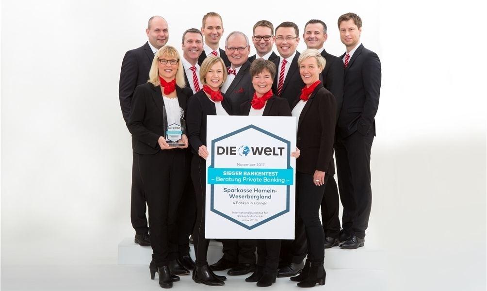 Sparkasse Hameln Weserbergland Mit Ausgezeichnetem Private Banking