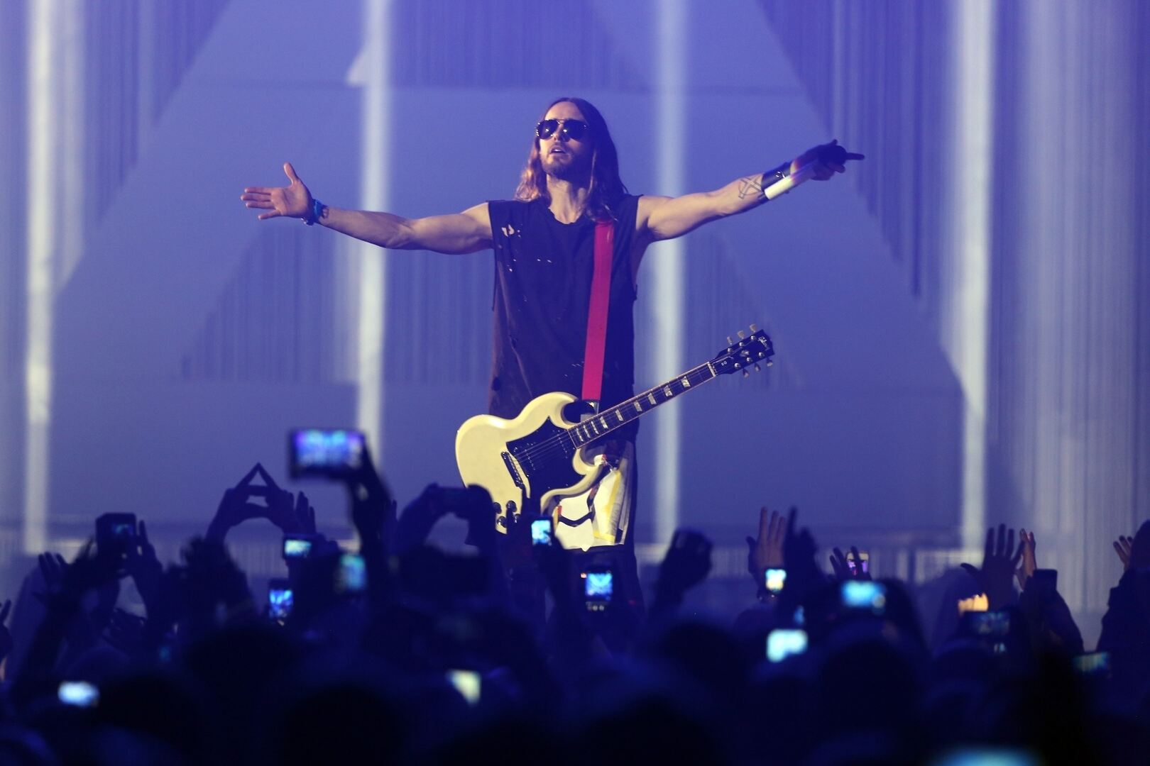 30 Seconds to Mars Jared Leto Konzert Hannover TUI-Arena