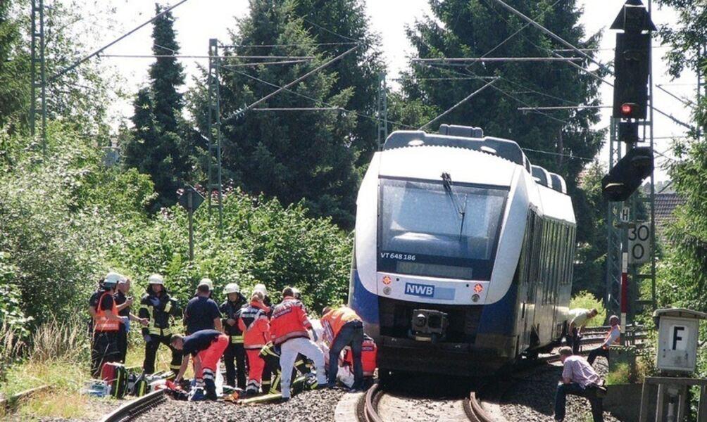 Von Zug Erfasst