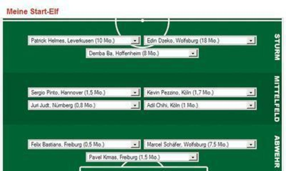 Bundesliga Trainerspiel