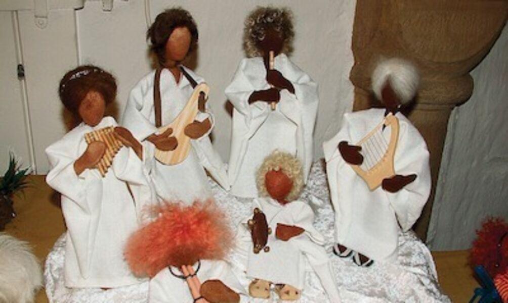 Weihnachtsbotschaft von Pia im Bademantel