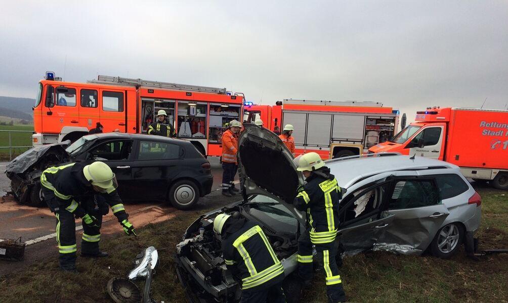 Schwerer Verkehrsunfall bei Klein Berkel