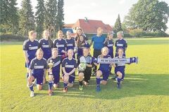 Triple-Sieger: Tünderns C-Juniorinnen. Foto: pr
