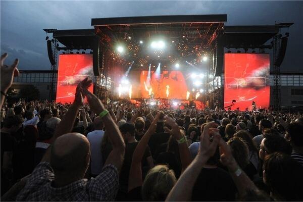 So Waren Guns N Roses In Hannover