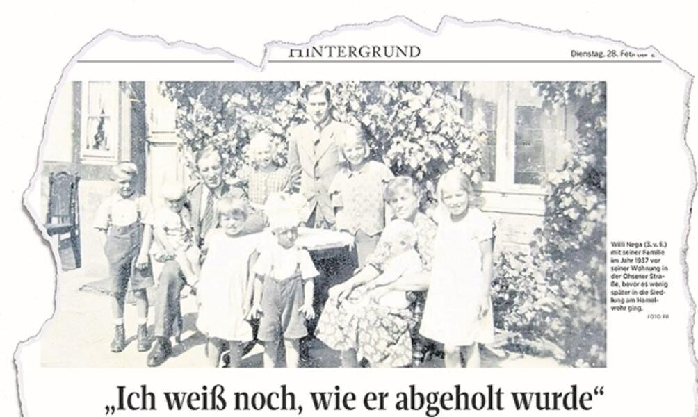 Nach Hamelwehr-Serie: Tochter von Nazi-Opfer meldet sich aus England